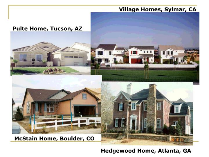 Village Homes, Sylmar, CA