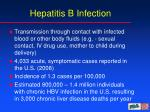 hepatitis b infection