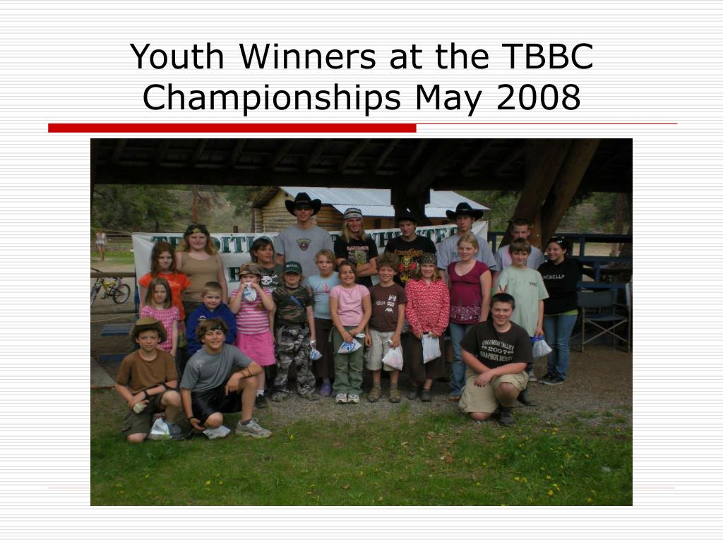 Youth Winners at the TBBC Championships May 2008