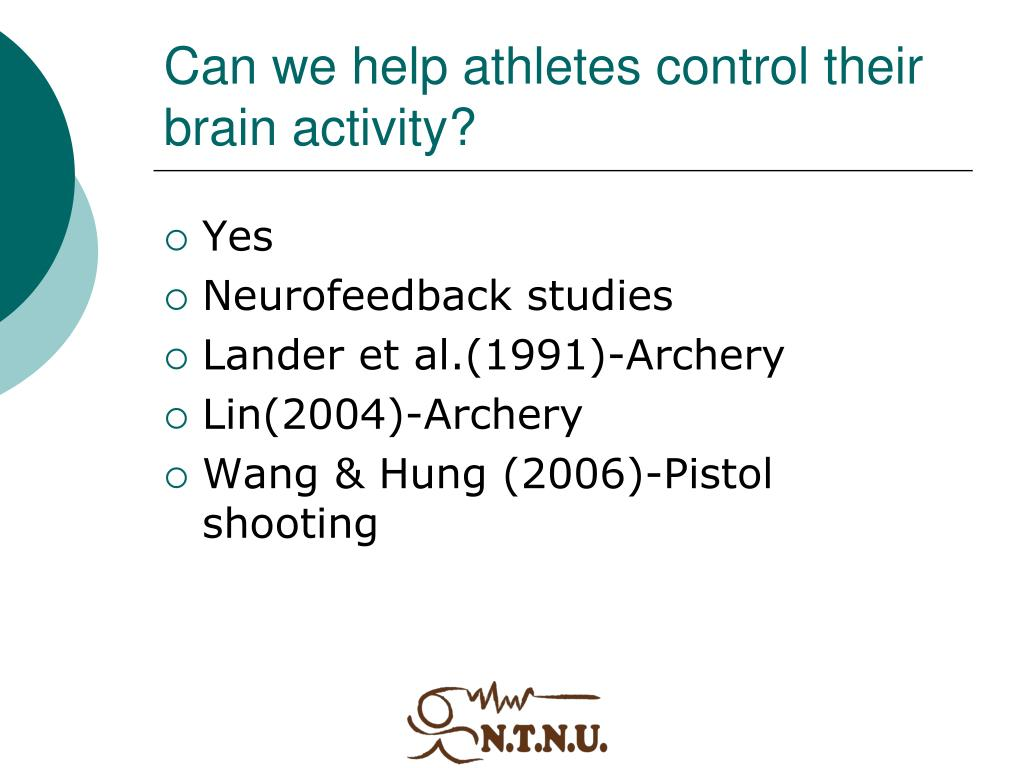 Can we help athletes control their brain activity?