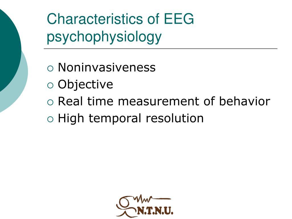 Characteristics of EEG psychophysiology