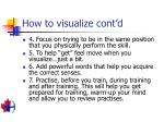 how to visualize cont d