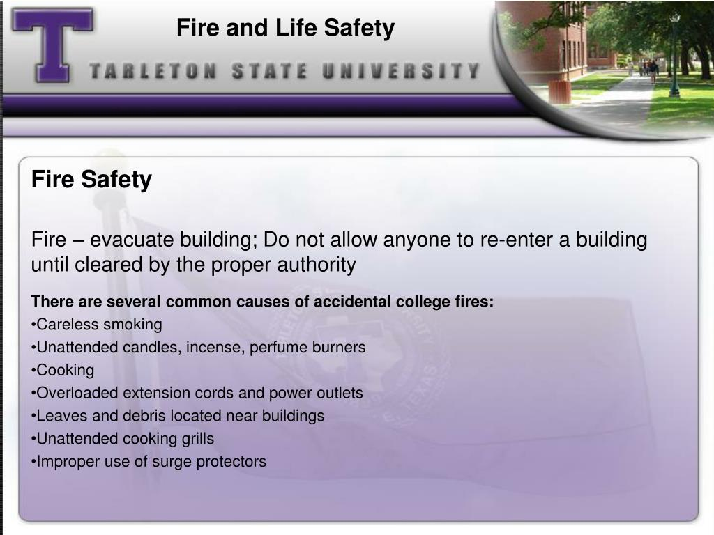 Fire and Life Safety