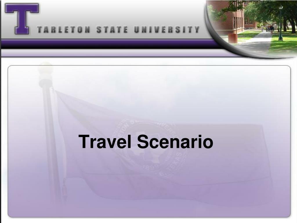 Travel Scenario