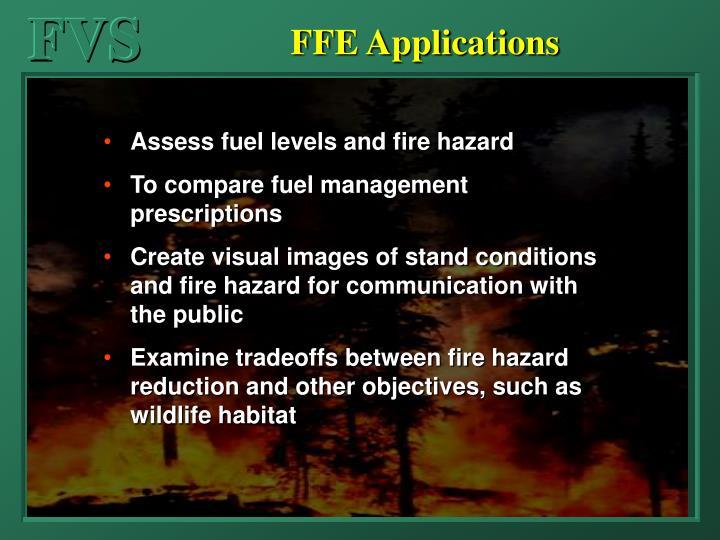 FFE Applications