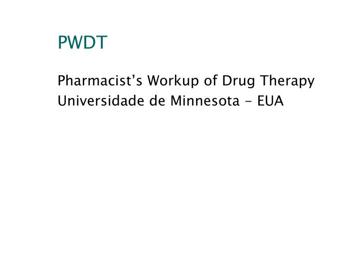PWDT