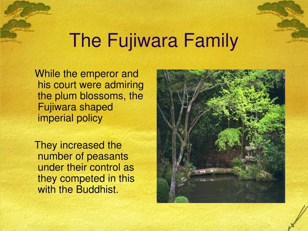 The Fujiwara Family