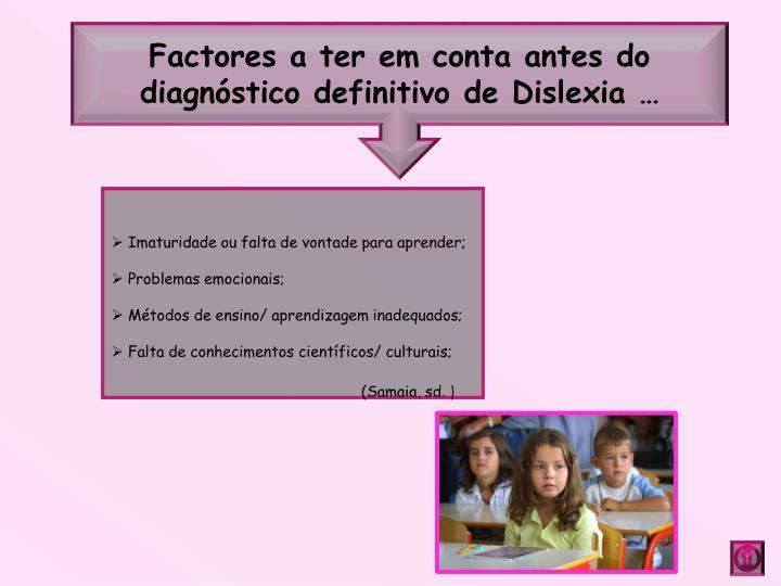 Factores a
