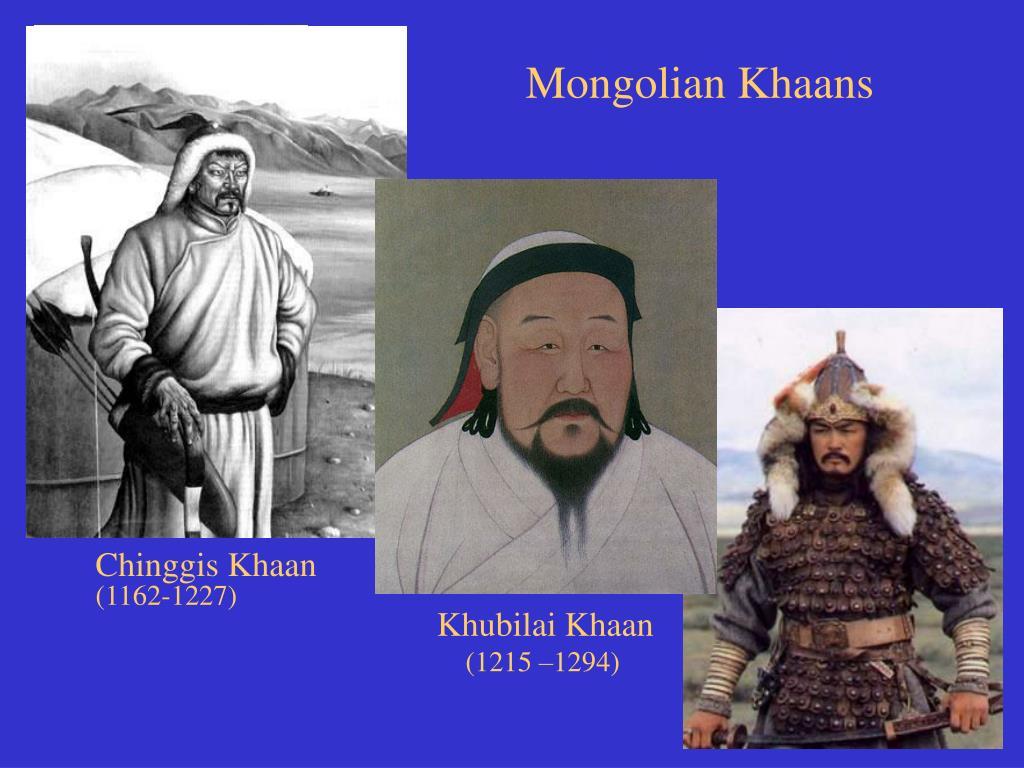 Mongolian Khaans