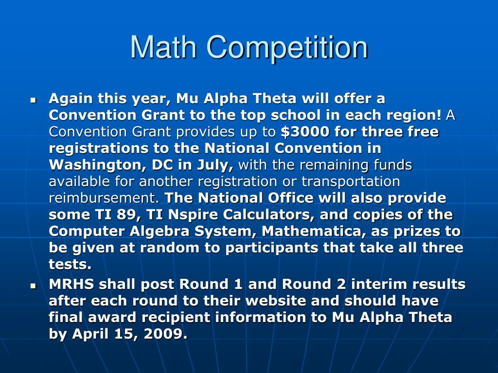 Math Competition