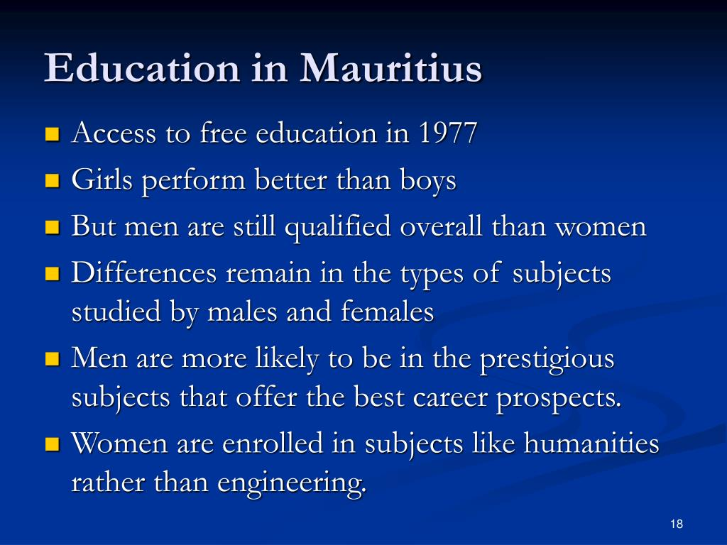 Education in Mauritius