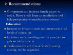 recommendations33