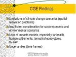 cge findings5