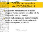 cge recommendations doc fccc sbi 2001 1511