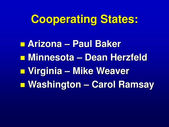 Cooperating States: