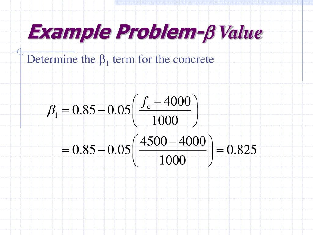 Example Problem-