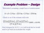 example problem design29