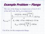 example problem flange36