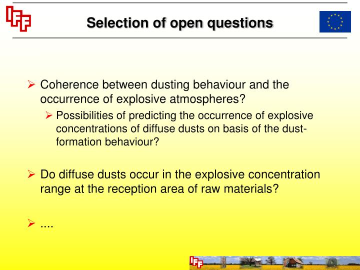 ppt dust explosion protection in feed mills according to