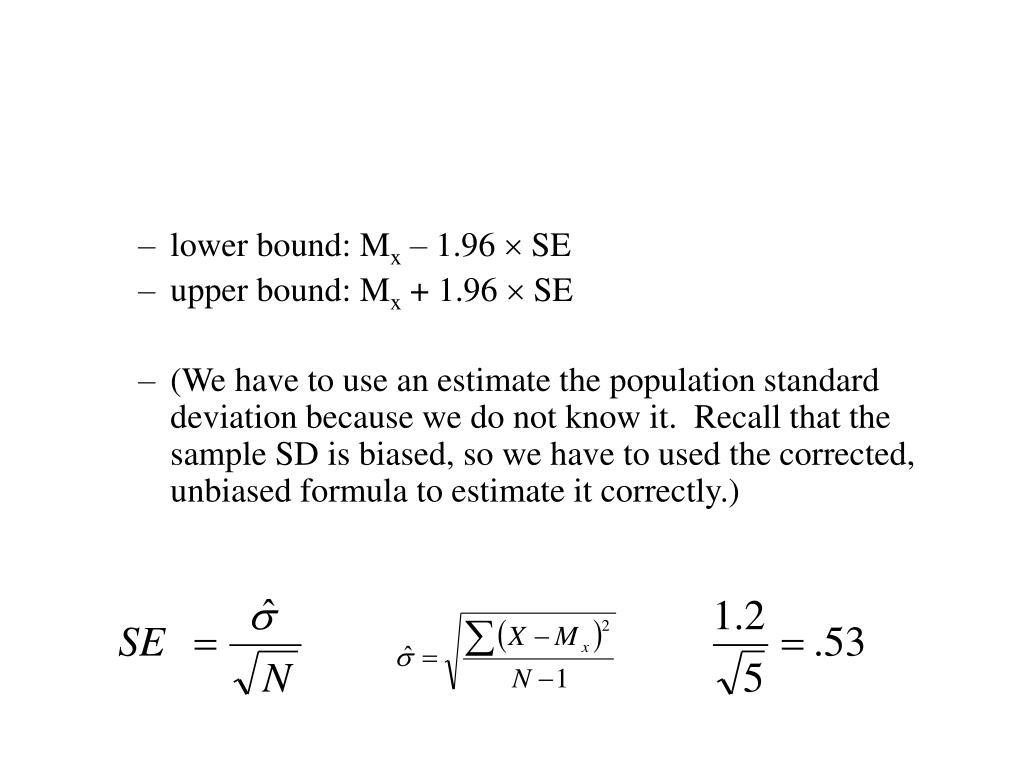 lower bound: