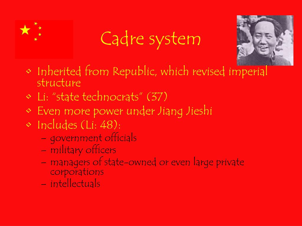 Cadre system