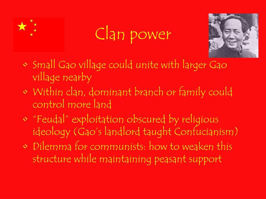 Clan power