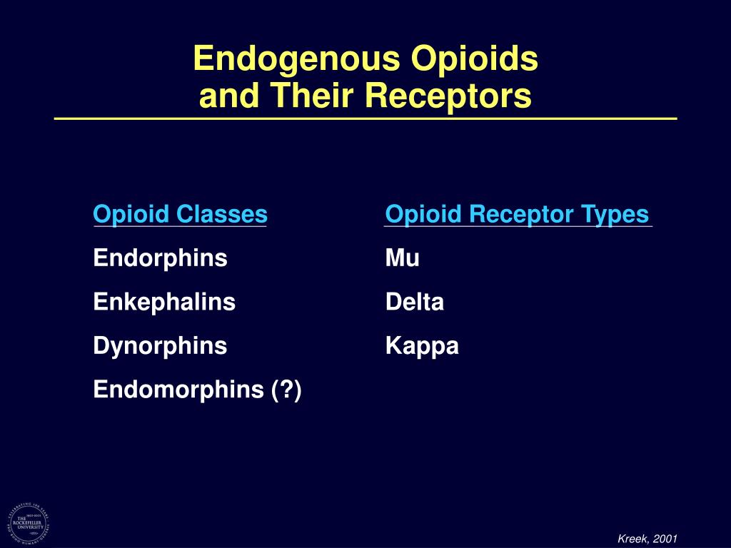 Endogenous Opioids