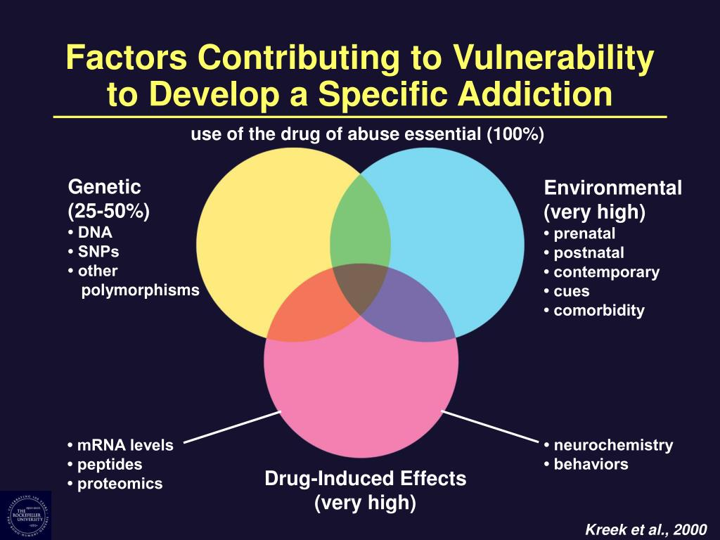 Factors Contributing to Vulnerability to Develop a Specific Addiction