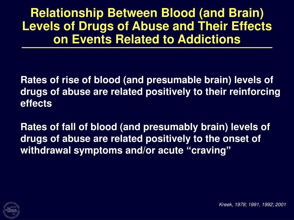 Relationship Between Blood (and Brain)