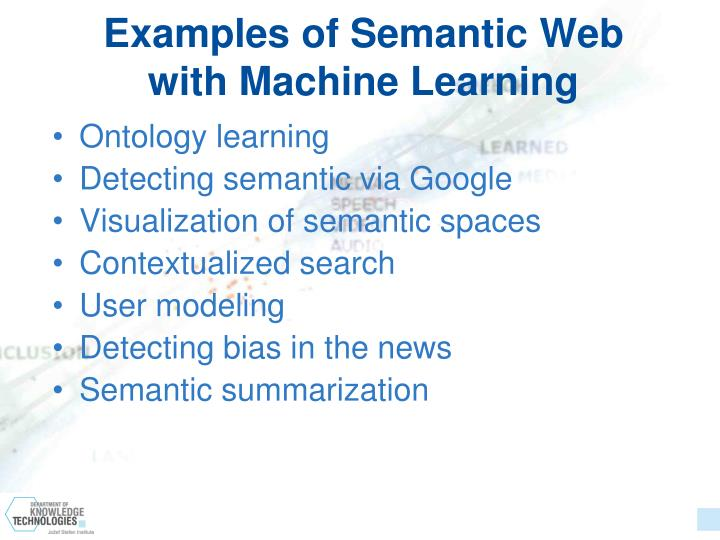 Examples of Semantic Web