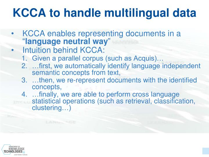 KCCA to handle multilingual data