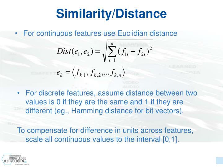 Similarity/Distance