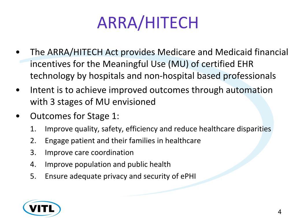ARRA/HITECH