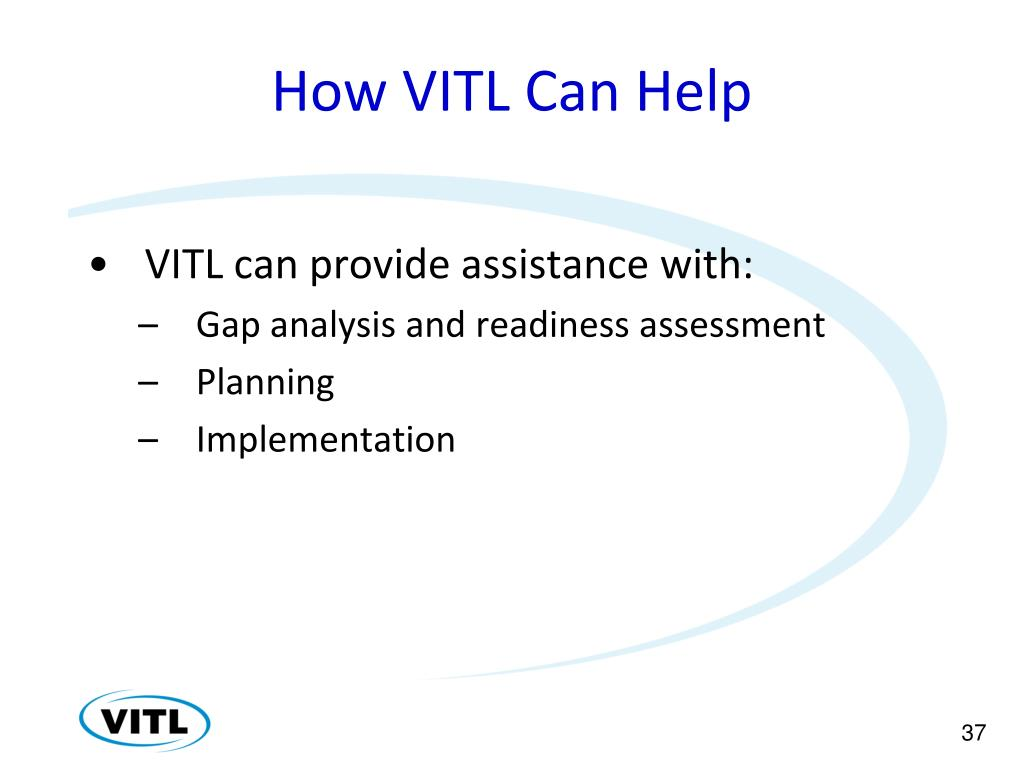 How VITL Can Help