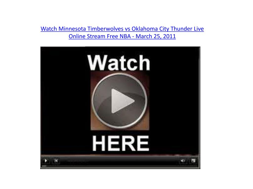 Watch Minnesota Timberwolves
