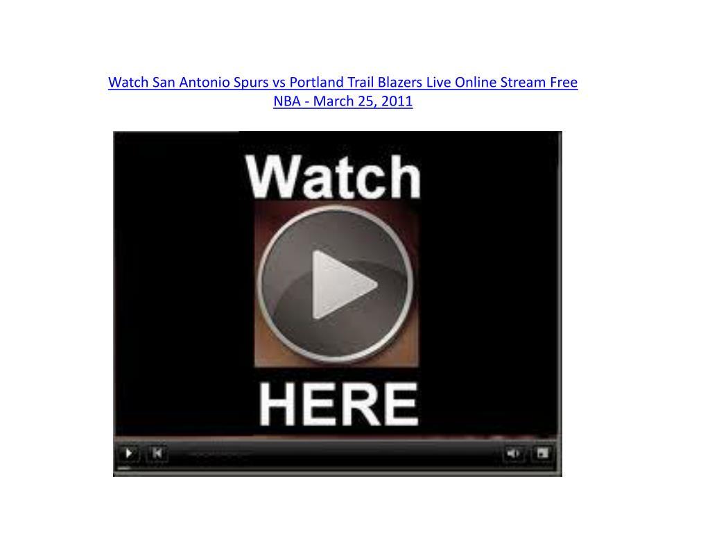Watch San Antonio Spurs