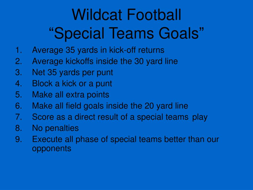 Wildcat Football