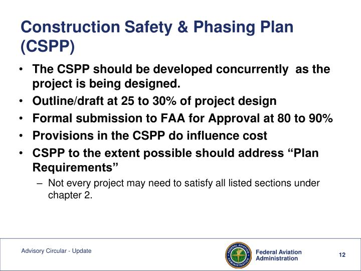 Construction Safety & Phasing Plan (CSPP)