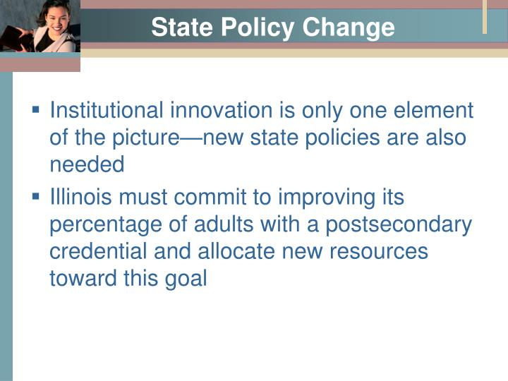 State Policy Change