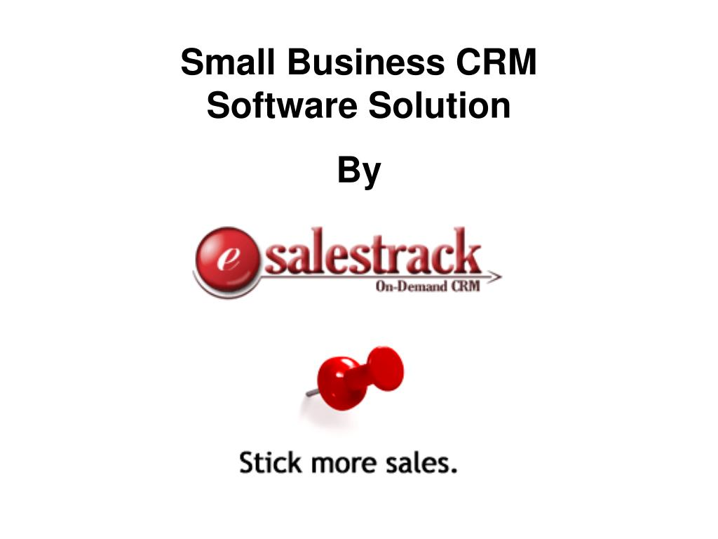 Small Business CRM Software Solution