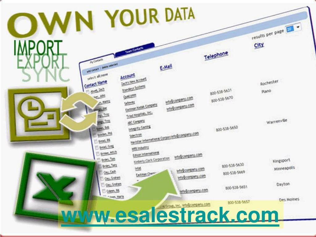 www.esalestrack.com