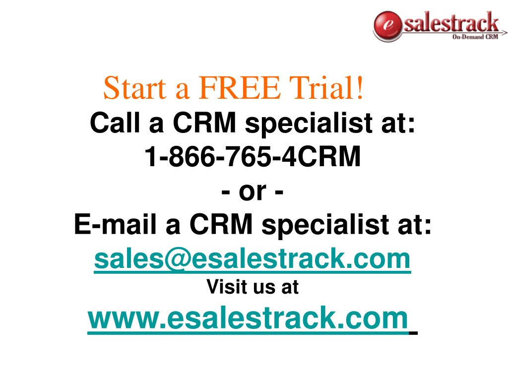 Start a FREE Trial!