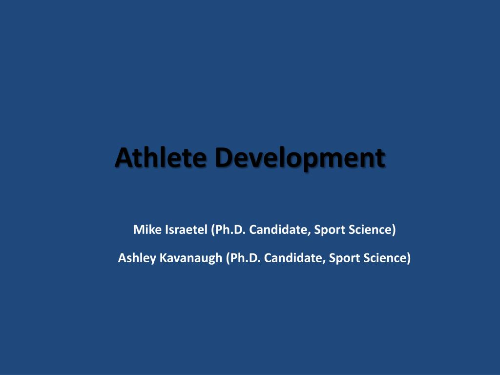 Athlete Development