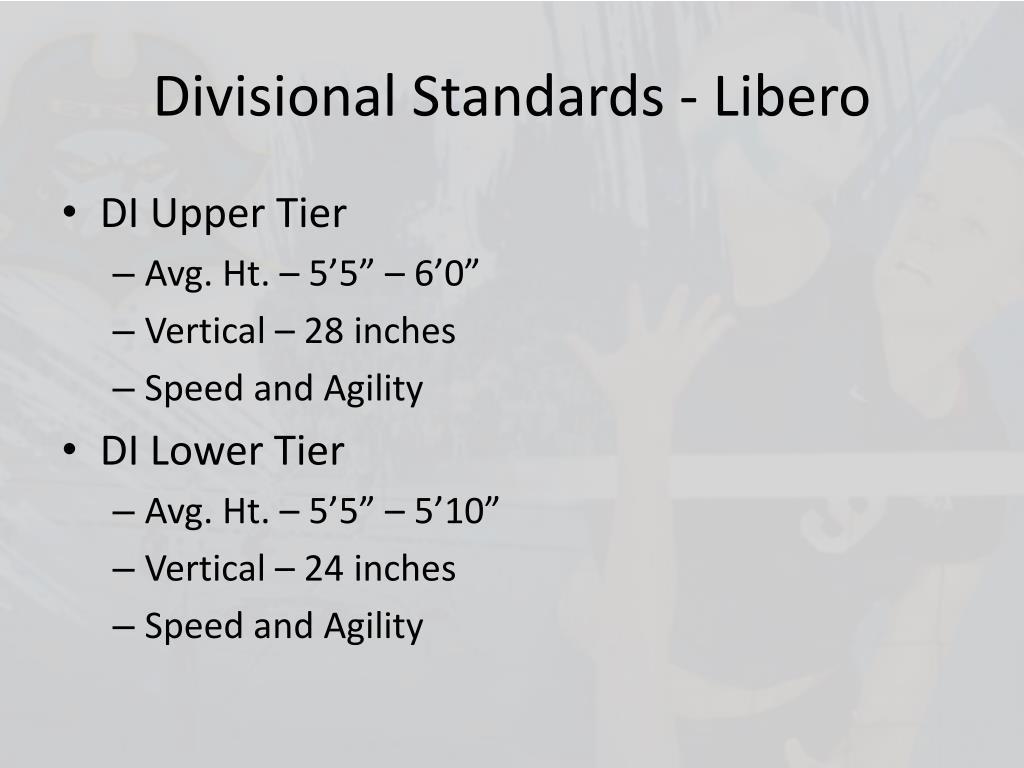 Divisional Standards - Libero