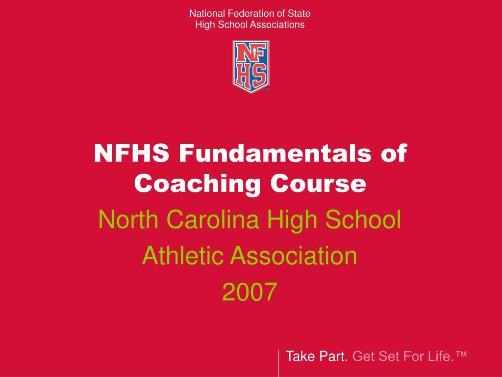 NFHS Fundamentals of