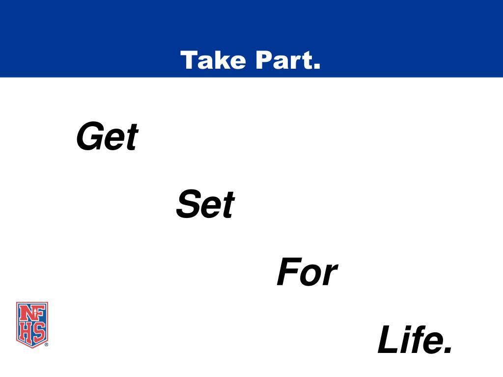 Take Part.