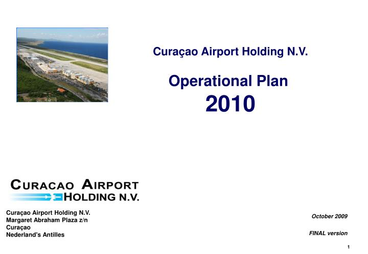 Curaçao Airport Holding N.V.