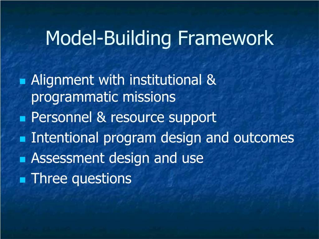 Model-Building Framework