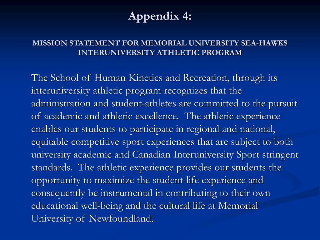 Appendix 4: