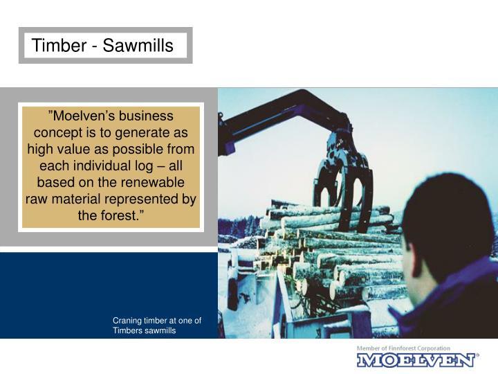 Timber - Sawmills